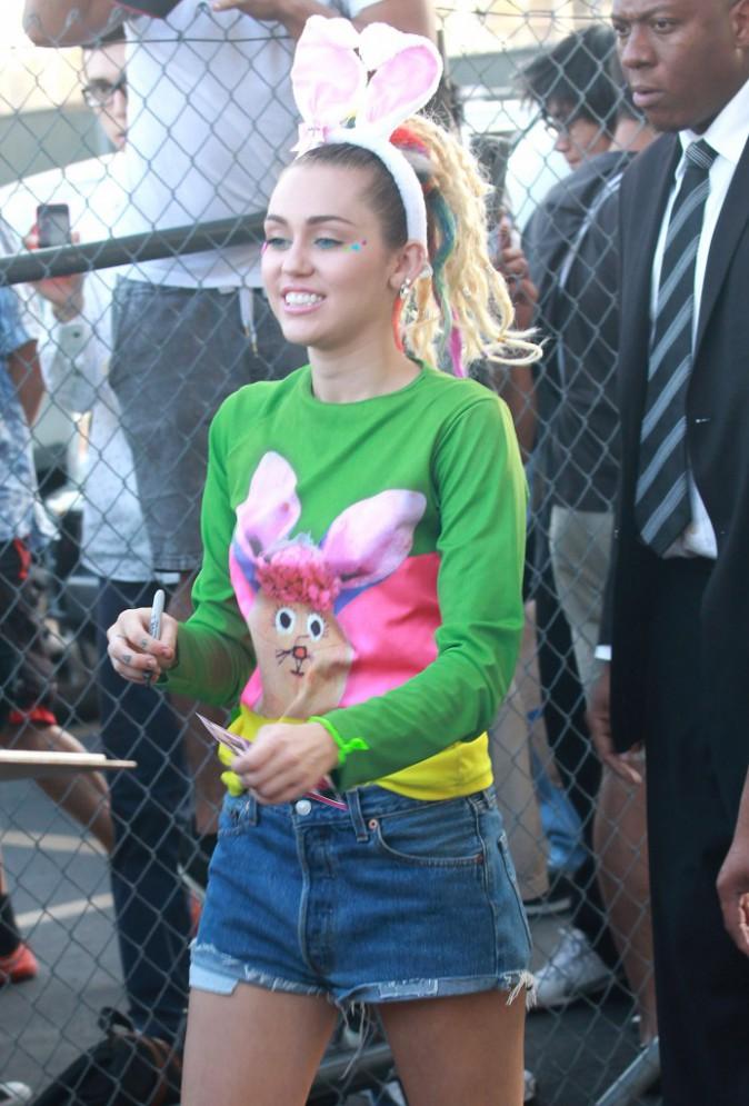Miley Cyrus le 26 août 2015