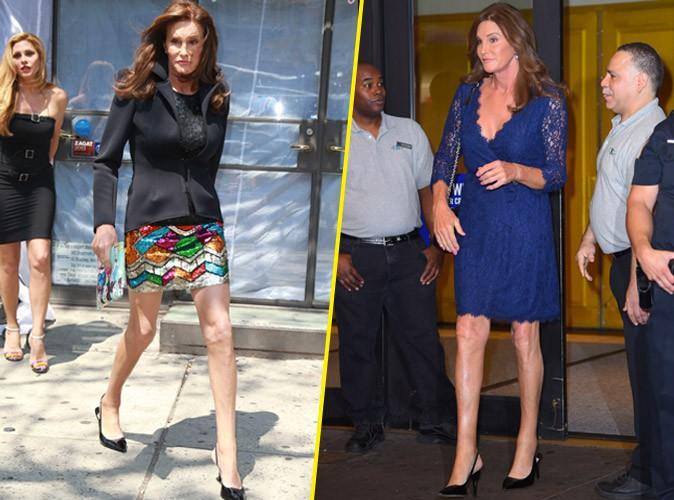 Mini jupe, talons, dentelle et paillettes, Caitlyn Jenner s'en donne � coeur joie !