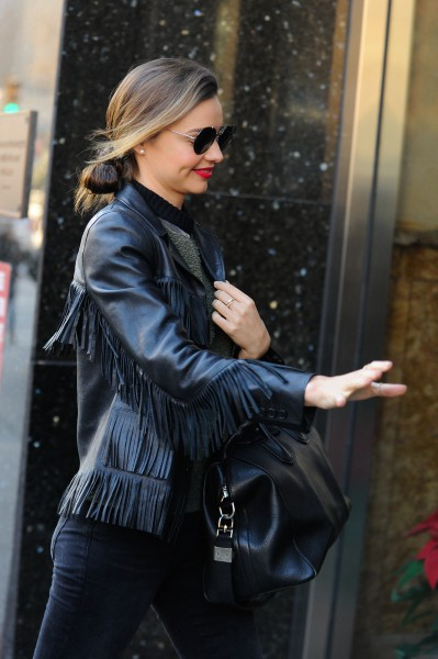 Miranda Kerr à New York, le 11 décembre 2013.