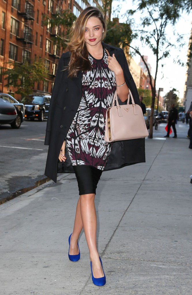 Miranda Kerr à New York, le 15 octobre 2013.