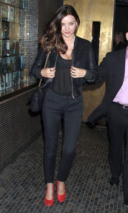 Miranda Kerr, une silhouette parfaite trois mois après son accouchement !