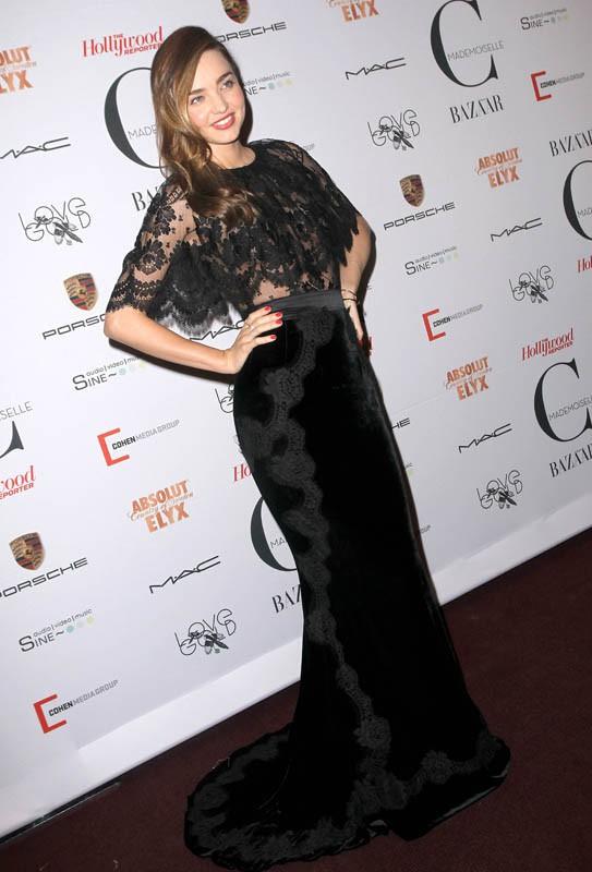 Miranda Kerr en montre plus que prévu à New York