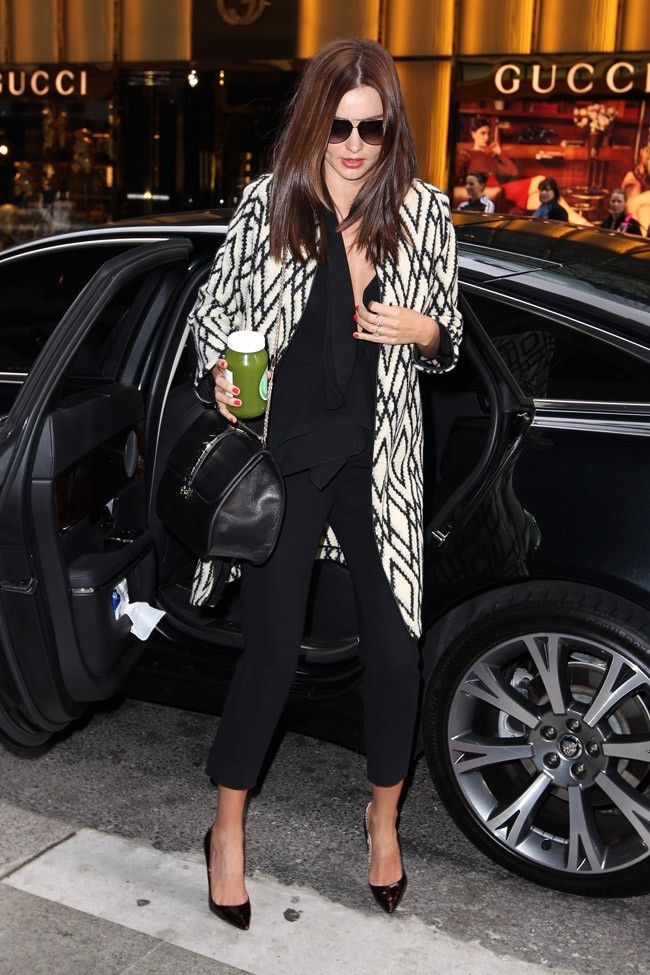 Miranda Kerr le 10 août 2012 à Sydney