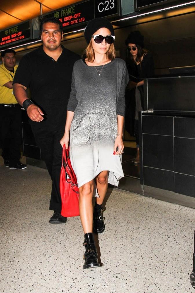 Nicole Richie à l'aéroport de Los Angeles le 1er mars 2013