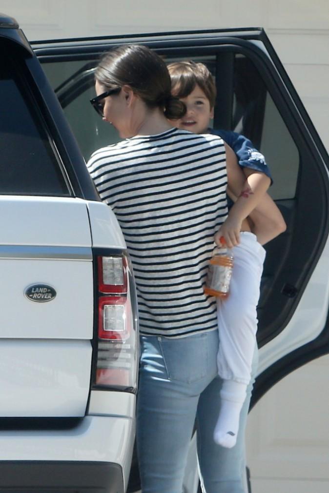 Miranda Kerr et Orlando Bloom à Malibu le 28 mars 2015