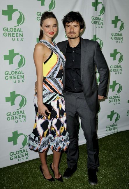 Miranda Kerr et Orlando Bloom le 20 février 2013 à Los Angeles