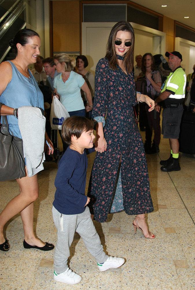 Photos : Miranda Kerr : Flynn, toujours aussi craquant !