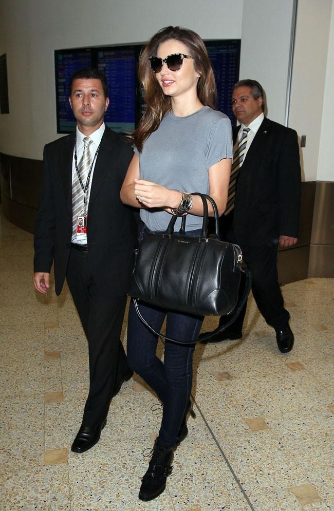 Miranda Kerr à l'aéroport de Sydney le 2 février 2013