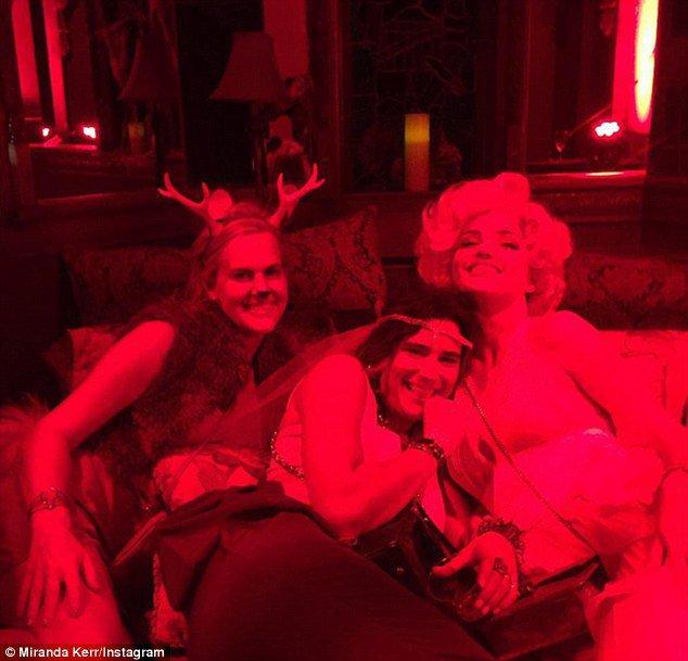 Miranda Kerr le 24 octobre 2015