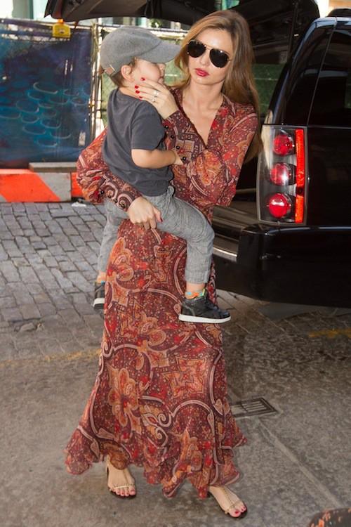 Photos : Miranda Kerr : loin des podiums et maman bohème avec son fils Flynn !