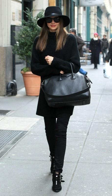 Miranda Kerr à New York, le 2 décembre 2012.