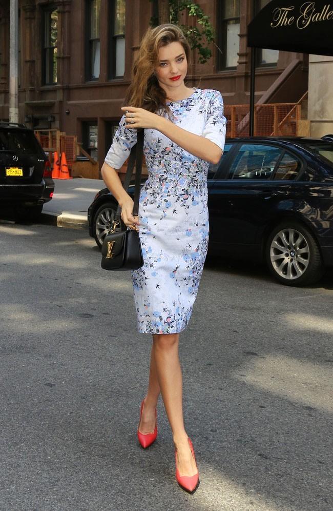 Miranda Kerr à New-York le 29 juin 2013