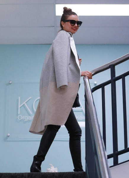 Miranda Kerr à Sydney, le 14 mai 2014.