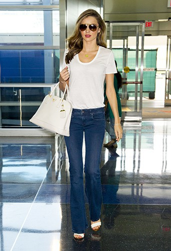 Miranda Kerr à New-York le 31 juillet 2013