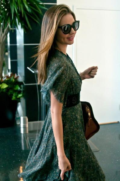 Miranda Kerr à l'aéroport de New York, le 13 juillet 2013.