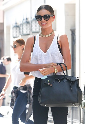 Miranda Kerr à New York le 7 juillet 2014