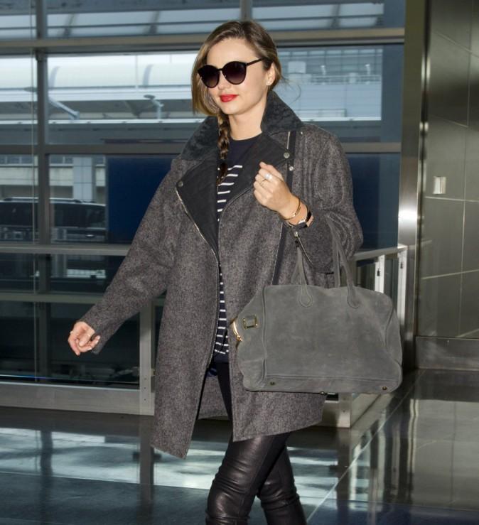 Miranda Kerr à l'aéroport JFK, le 7 novembre 2013.