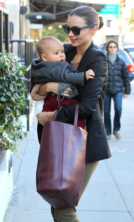 Rien de mieux que d'avoir son bébé dans les bras !