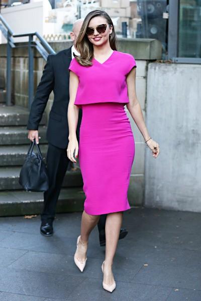Miranda Kerr en promo à Sydney, le 16 mai 2014.
