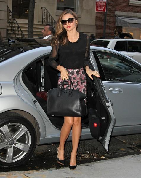 Miranda Kerr à New York, le 19 novembre 2012.
