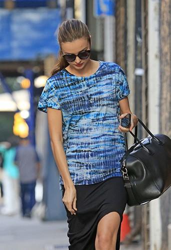 Miranda Kerr à New-York le 9 juillet 2013