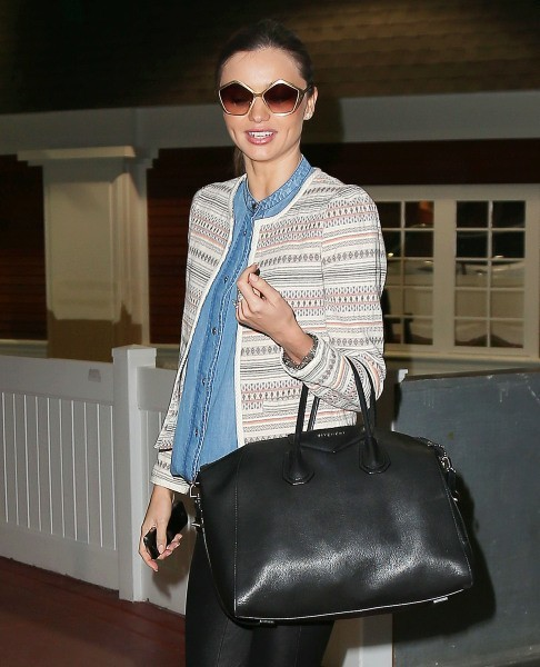 Miranda Kerr à New York, le 16 janvier 2013.