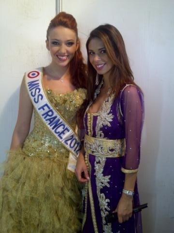 Delphine et Miss Maroc