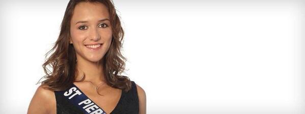 Clio Vittori - Miss Saint Pierre et Miquelon