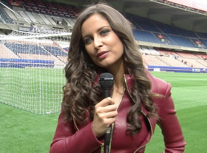 Malika Ménard commente les matches du PSG dans Paris, le club sur France 3 !