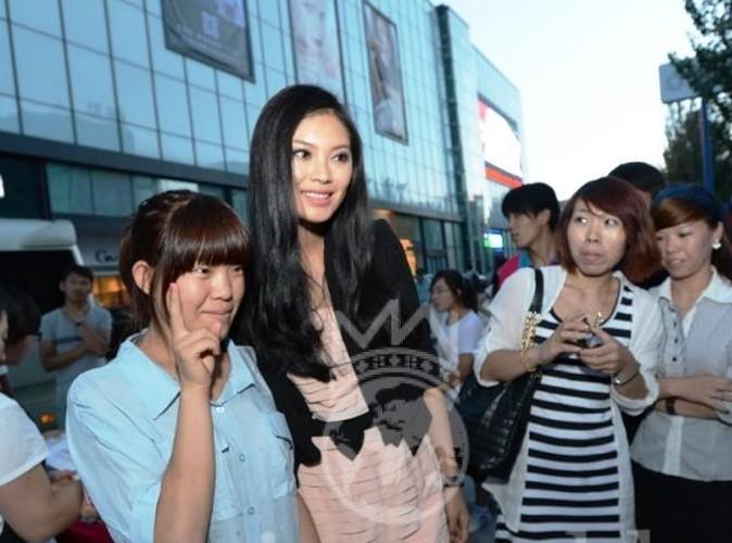 Wensia YU avec ses fans !