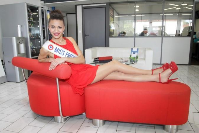 Auline Grac, flamboyante et sexy