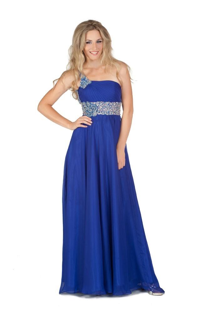 Miss Croatie en robe de soirée