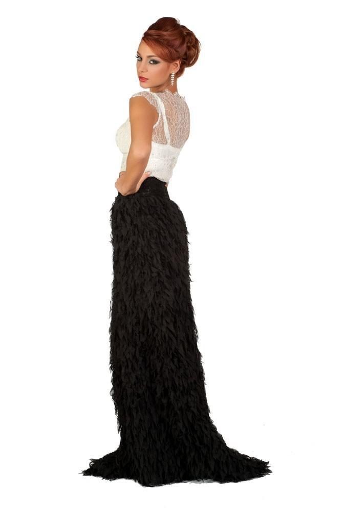 Miss Danemark en robe de soirée