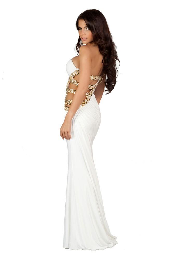 Miss Trinité-et-Tobago en robe de soirée