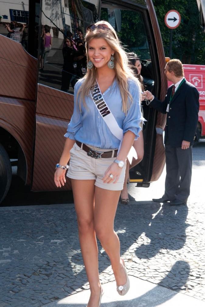 La très fine Miss Belgique