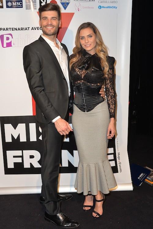 Aurélien Giorgino :  Mister France 2015 et Clara Morgane
