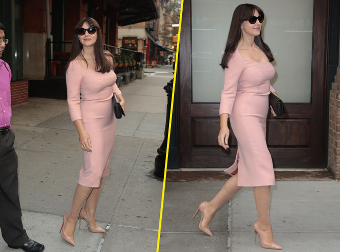 Photos: Monica Bellucci : beaut� fatale � New York !