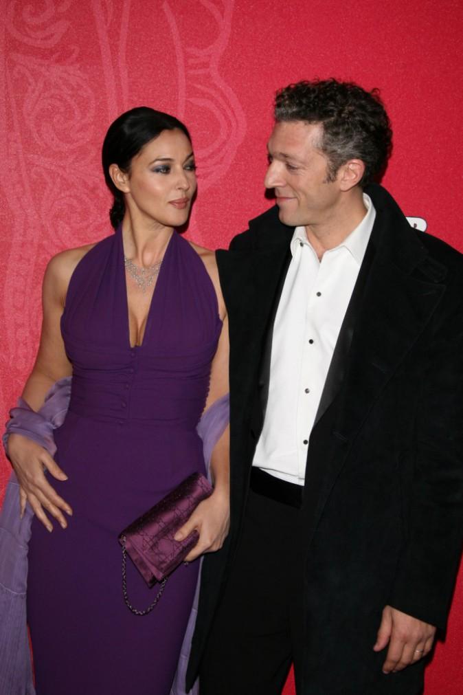 Monica Bellucci et Vincent Cassel en 2009