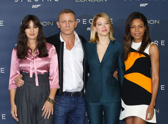 Monica Bellucci, L�a Seydoux, Naomie Harris : les James Bond Girls  � l'attaque !