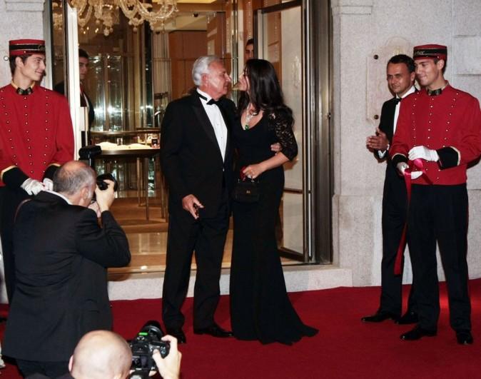 Monica Bellucci à Milan le 4 octobre 2012