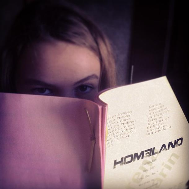 Morgan Saylor alias Dana Brody dans Homeland, une actrice à suivre !