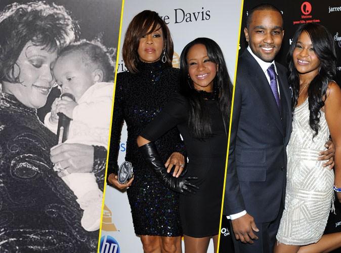 Photos : décès de Bobbi Kristina : grandeur et décadence dans l'ombre de Whitney Houston…
