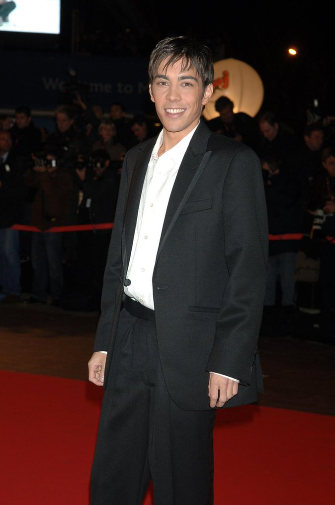 Gregory Lemarchal en 2006 au Nrj Music Awards
