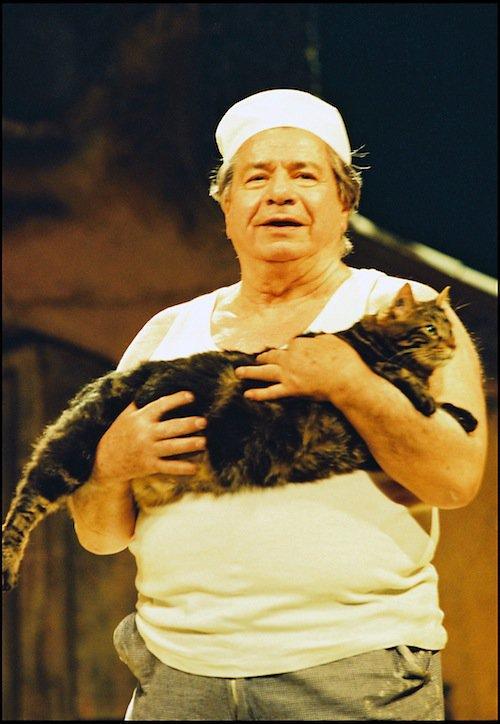 Michel Galabru dans La Femme du boulanger en 1998