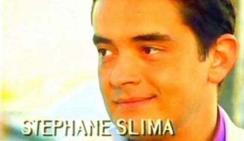 Stéphane Slima dans l'un des génériques de Sous le Soleil