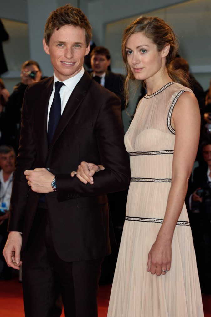 Mostra de Venise : Eddie Redmayne et Hannah Bagshawe : Couple uni et complice pour la première de The Danish Girl !