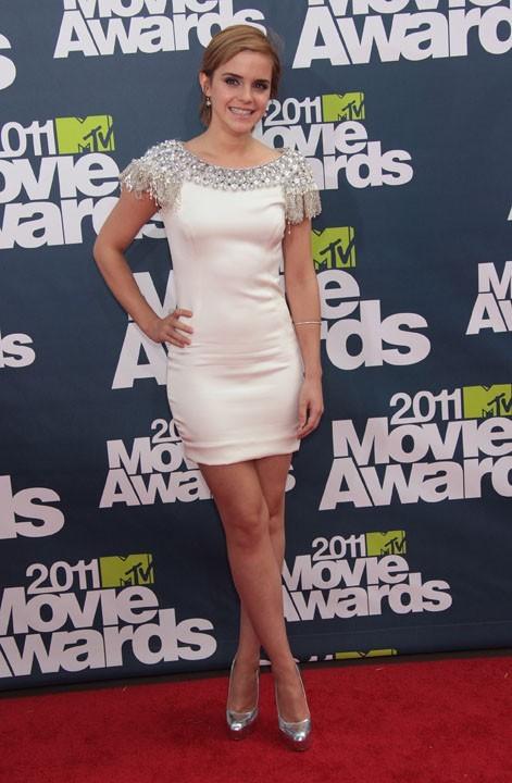 Emma Watson lors de la cérémonie des MTV Movie Awards 2011, le 5 juin 2011 à Universal City.
