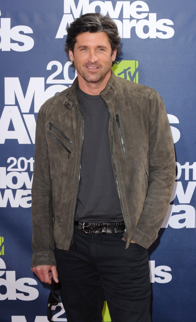 Patrick Dempsey lors des MTV Movie Awards 2011, le 5 juin 2011 à Universal City.
