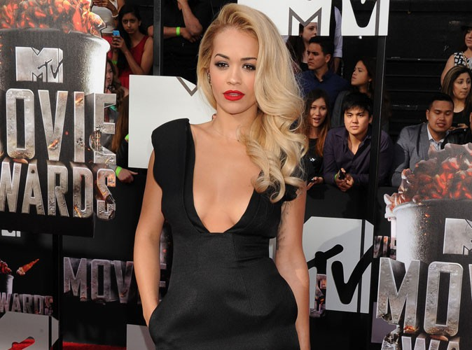 MTV Movie Awards 2014 : Rita Ora : elle a sorti le grand jeu pour rivaliser avec Rihanna !
