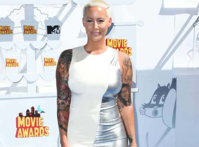 MTV Movie Awards 2015 : Amber Rose bien sage après son accrochage avec Kendall Jenner !